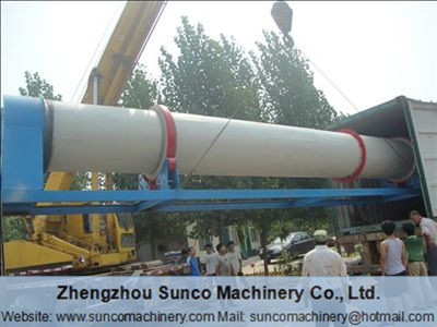 Rotary Drum Dryer for drying wood shavings