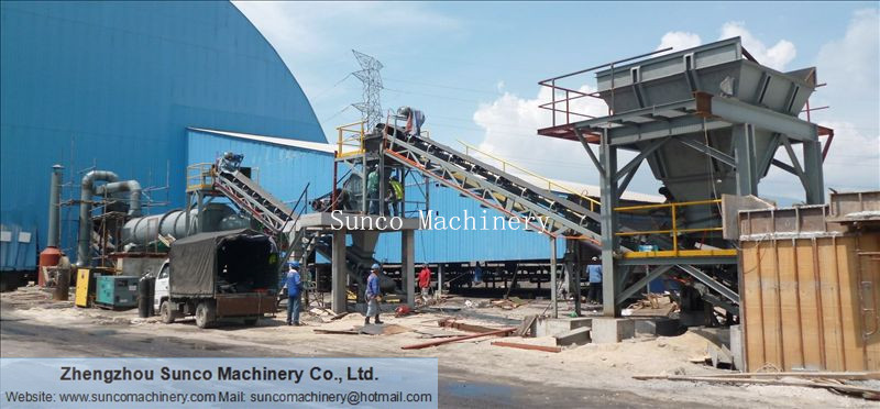 Rotary Drum Dryer for drying slag