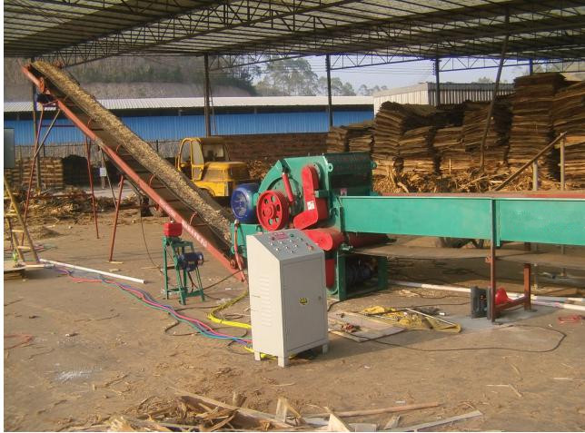 Wood Sawdust Making and Drying System, wood sawdust dryer, wood crushing machine, wood chipper machine, sawdust making machine