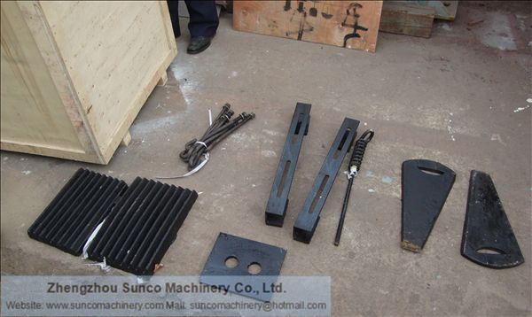 Wearing Parts of Small Jaw Crusher PE150X250, Small Rock Crusher