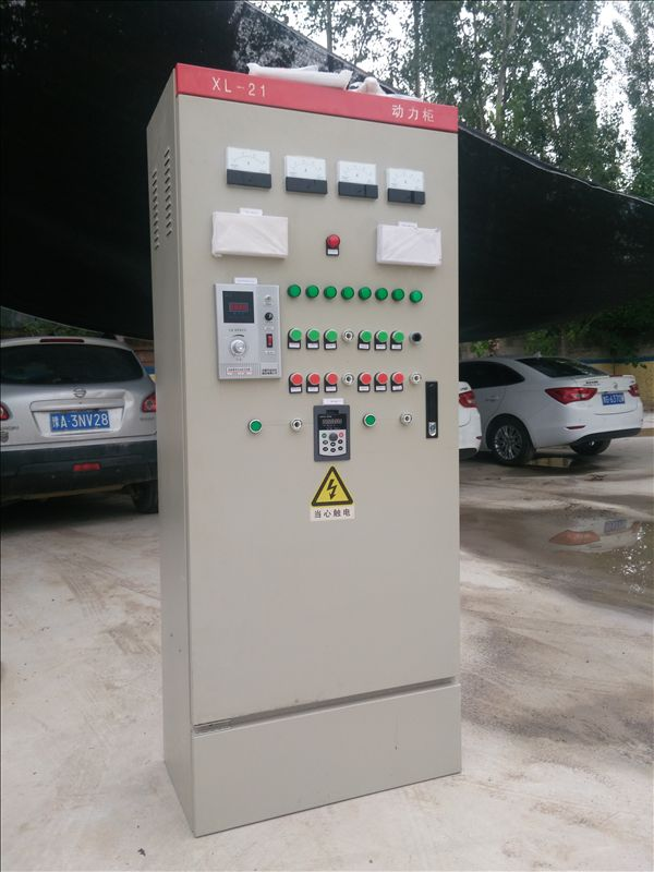 Electric control cabinet for barite milling plant