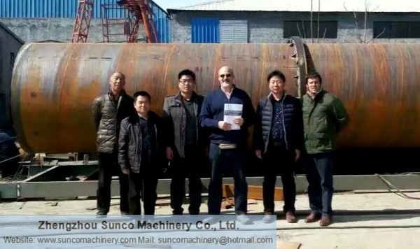 Argentina Customers for Chicken Dung Drying Machine