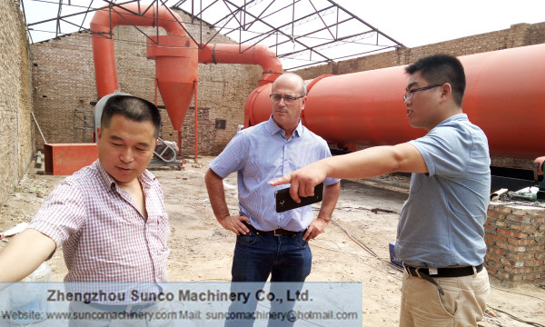 Wood Dust Drying System, sawdust dryer, sawdust rotary dryer